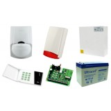 Alarm Satel CA-4 LED 1xLC-100 PI, syg. zew. Beewell
