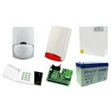 Alarm Satel CA-4 LED, 2xLC-100 PI, syg. zew. Beewell