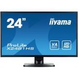 "Monitor LED IIYAMA X2481HS-B1 24"" HDMI AMVA"