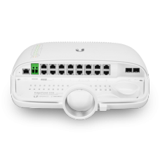 EdgePoint S16 outdoor PoE router, 16x RJ45 10/100/1000 Mbps, 2x 1/10Gbps SFP+